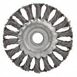 Perie circulara de sarma Raider, 150 mm, otel carbon