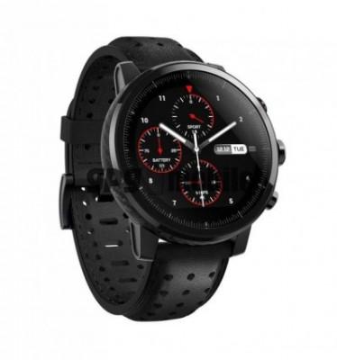 Ceas Xiaomi AmazFit Stratos + (A1619S) Premium Smartwatch, Ceramic , Waterproof IP68. Folie cadou foto
