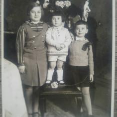 Copii// fotografie tip CP, 1933