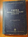 """fauna republicii populare romane """" indrumator"""" din anul 1951"""