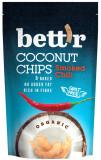 Cumpara ieftin Chips de cocos cu chilli bio, 70g