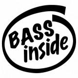 Sticker Auto Bass Inside
