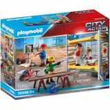 Set de Constructie Muncitori cu Schela - City Action, Playmobil