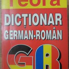DICTIONAR GERMAN-ROMAN (14.000 DE CUVINTE) - I. SIRETEANU, E. TOMEANU