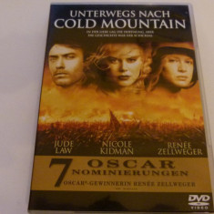 spre cold mountain - dvd