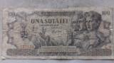 BANCNOTA 100 LEI 5-DECEMBRIE 1947-ROMANIA