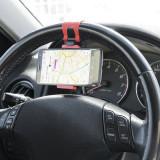 Suport auto pentru telefon prindere pe volan