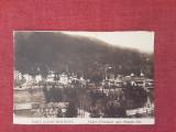 Slanic Moldova - Vedere spre Muntele Puf - vedere interbelica necirculata, Fotografie