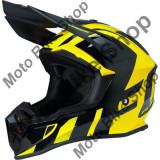 MBS Casca motocross Ufo Plast Quiver Shedir, galben/negru, M, Cod Produs: HE123M