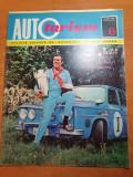 Revista autoturism iunie 1972-ghidul dacia,inaugurara portilor de fier