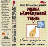 Caseta Ion Ghitulescu – Muzicã Lãutãreascã Veche IV (Spune, Spune Pui De Cerb)