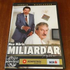 Sergiu Nicolaescu - Nea Marin Miliardar (1 DVD film - Ca nou!)