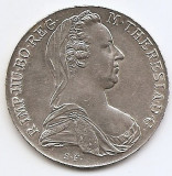 Austria 1 Thaler 1780 - Maria Theresia - Argint  28.07g/833, MV2 ,  41 mm, Europa