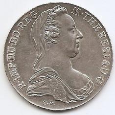 Austria 1 Thaler 1780 - Maria Theresia - Argint  28.07g/833, MV2 ,  41 mm