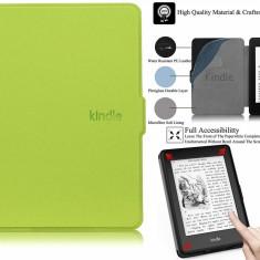 Husa Smart Amazon All-New Kindle 8th Gen 2016 + folie + stylus