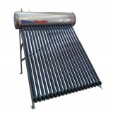 Panou solar cu 25 tuburi vidate pentru preparare apa calda menajera cu rezervor inox presurizat 200 litri BLAUTECH