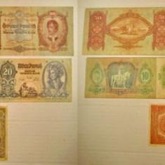 4878-I-Ungaria bancnote vechi. Pret/ bucata.