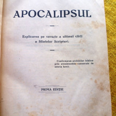 Carte   Apocalipsul Ed. 1931