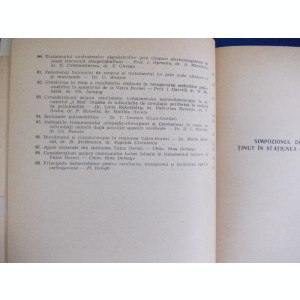LUCRARI DE BALNEOLOGIE SI FIZIOTERAPIE : EFORIE , CALIMANESTI, HERCULANE , 1964