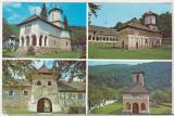 bnk cp Manastiri - Lainici, Polovragi , Crasna - Vedere - necirculata