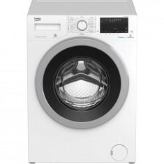 Masina de spalat rufe Beko WTV9636XS0, 9 kg, 1200 RPM, Clasa A+++, HomeWhiz, conectare Bluetooth, SteamCure, AddGarment, Motor ProSmart Inverter, 60 c