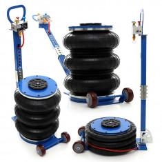 Cric pneumatic Tagred TA257 cu perna de aer tip burduf, capacitatea 6 tone, inaltime maxima ridicare 40 cm