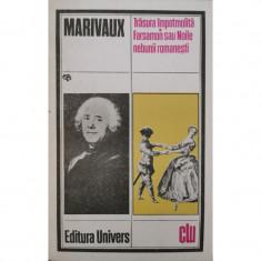 Trasura impotmolita. Farsamon sau Noile nebunii romanesti - Marivaux