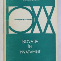 INOVATIA IN INVATAMANT de JEAN HASSENFORDER , 1976