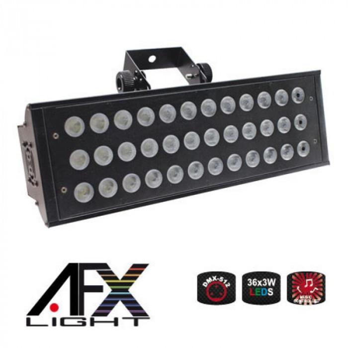 Stroboscop profesional, 150 W, 36 x LED, 2 canale DMX