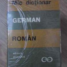 MIC DICTIONAR GERMAN ROMAN - E. SIRETEANU, I. TOMEANU