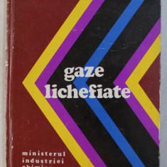 GAZE LICHEFIATE de NICOLAE BALDEA , 1976