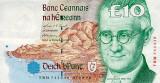 Bancnota IRLANDA - 10 pounds 1999