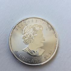 5 Dollar 2016 Canada Argint 0.999 Gr: 31.10, America de Nord