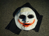 Masca silicon JOKER/Horror/Halloween/Groaza/Carnaval/Bal mascat/Costum tematic, M/L