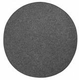 Covor Unicolor Wolly, Rotund, Negru, 200x200, BT Carpet
