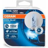 Bec Osram H15 12V 55/15W Cool Blue Intense 64176CBI-HCB Set 2 Buc