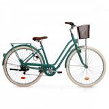 Bicicletă Oraş Elops 520 Verde