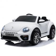 Masinuta electrica Chipolino Volkswagen Beetle Dune White