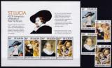 Cumpara ieftin DB1 Pictura Santa Lucia Rubens set + MS MNH, Nestampilat