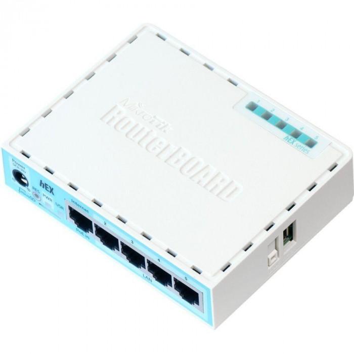Router MikroTik hEX RB750Gr3 L4 256MB 5x GbE port