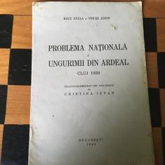 Problema națională a ungurimii din Ardeal