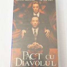 Caseta video VHS originala film tradus Ro - Pact cu Diavolul