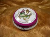 Cutiuta bijuterii Fragonard Limoges France, colectie, cadou, vintage