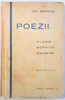 Poezii, G. Bacovia, Editia a III-a foto