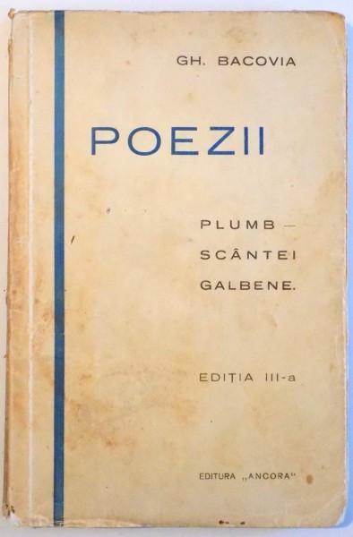 Poezii, G. Bacovia, Editia a III-a