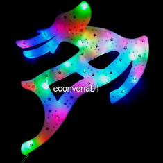 Decoratiune Luminoasa de Craciun Ren 43cm LEDuri Multicolore