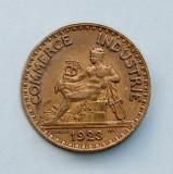 FRANTA  -  2 Francs 1923  -  Chambres de Commerce