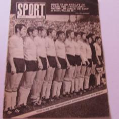 Revista SPORT-nr.10/05.1972 (meciul de fotbal Romania-Ungaria)