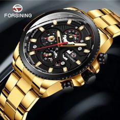 Ceas Barbati, FORSINING, Mecanic-Automatic, Afisaj Analog, model FLFOR1093-V1