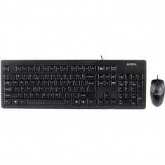 Kit tastatura + mouse A4Tech KRS-8372 USB Black